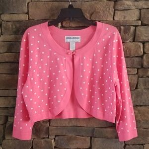 Jessica Howard Cropped Cardigan.  NWT